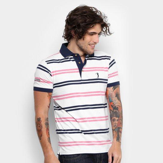 Camisa Polo Aleatory Malha Fio Tinto Masculina - Compre Agora  fa753459f6d59