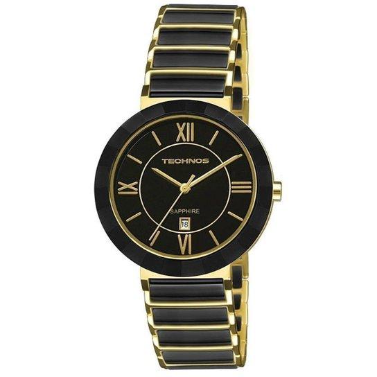 d09811bc956 Relógio Technos Feminino Sapphire 2015Ce 4P - Compre Agora