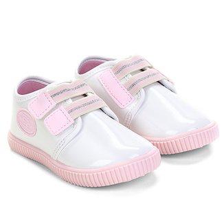 d4ff7a2721 Tênis Infantil Pimpolho Velcro Feminino