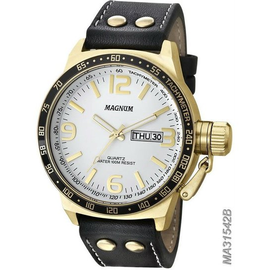 3a7f70bd863 Relógio Magnum Masculino Ma31542B - Compre Agora