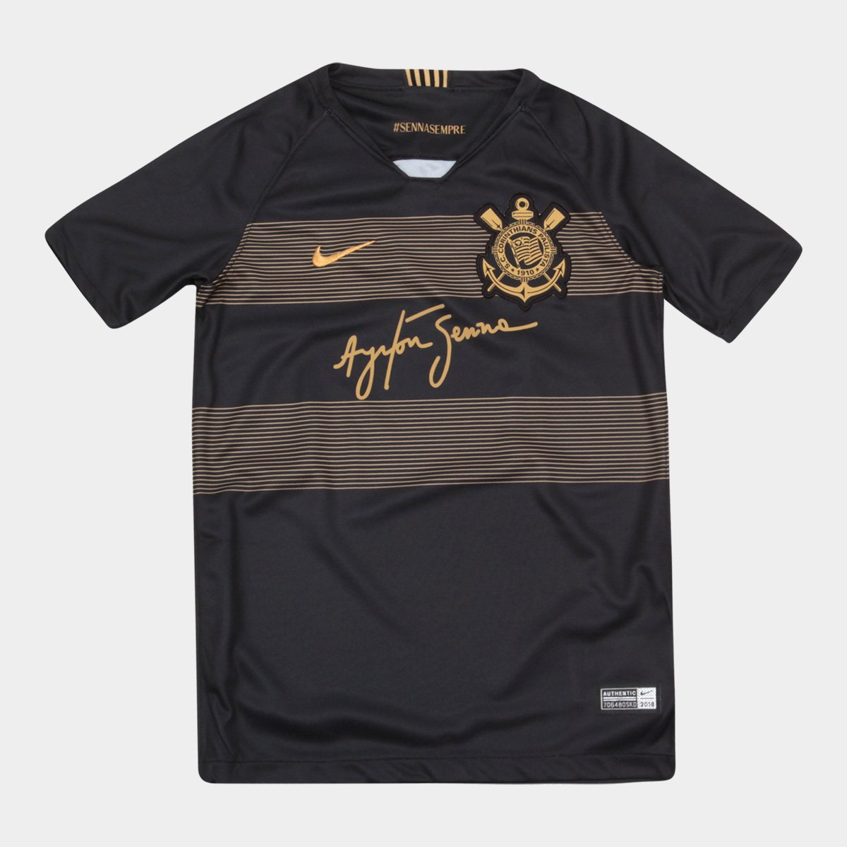 c8ce1be4a9 Camisa Corinthians Infantil III 2018 s n° - Torcedor Nike