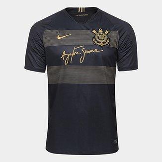 Camisa Corinthians III 2018 s n° - Torcedor Nike Masculina ec451166142d4