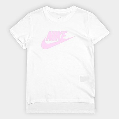 Camiseta Infantil Nike G Nsw Tee Dptl Basic Futura-Ar Feminina