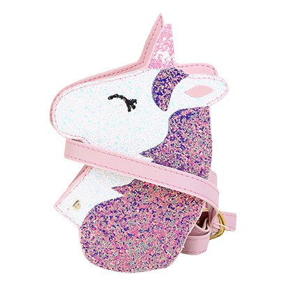 Bolsa Infantil Bibi Unicórnio Glitter Feminina