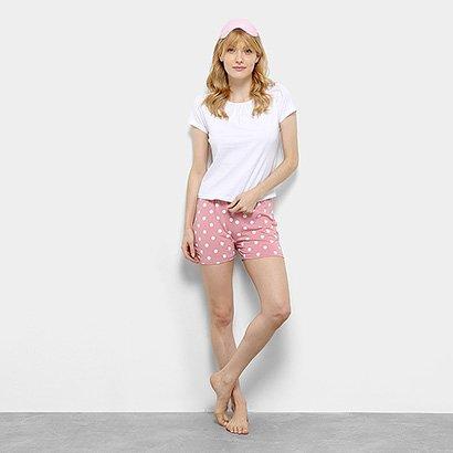 Pijama Flora Zuu Póa Feminino