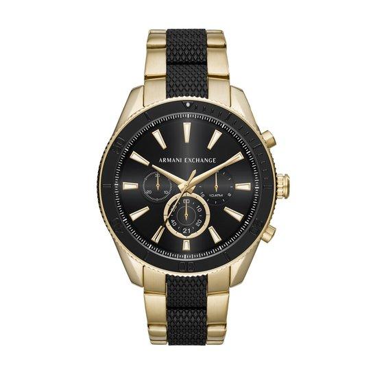 f45d919e1434e Relógio Armani Exchange Masculino Enzo - AX1814 1DN AX1814 1DN -  Preto+Dourado