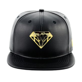 Bone Aba Reta Young Money Snapback Diamante e0ef75a3e0b