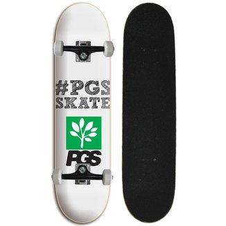 Skate Iniciante Completo Progress - PGS Hashtag central Branco 3dfceea514be8