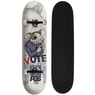 Skate Completo Iniciante Progress - PGS Rato eac2d84a0e6