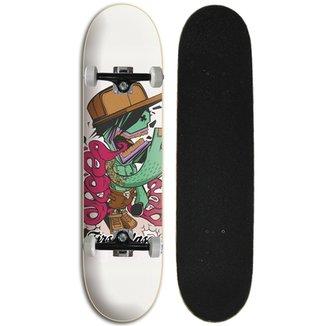 06a368f826 Skate completo Street Iniciante First Class - Mc