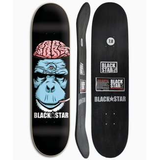 Shape de Skate Black Star Cerebro 7.8