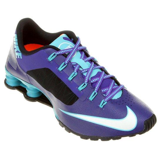 lowest price 481ba 13257 Tênis Nike Shox Superfly R4 - Roxo+Azul ...