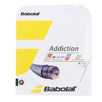 Corda Babolat Addiction 17L 1.25mm Natural - Set Individual