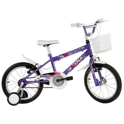 Bicicleta Track Bikes Track Girl c/ Capacete Infantil - Aro 16