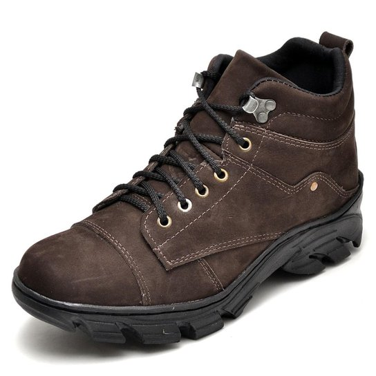 ad3eca7a11dbc Bota Adventure Top Franca Shoes Masculina - Cafe | Netshoes