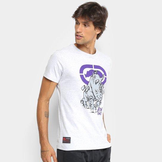 21c78ae0cb4 Camiseta Ecko Estampada Manga Curta Masculina - Gelo - Compre Agora ...