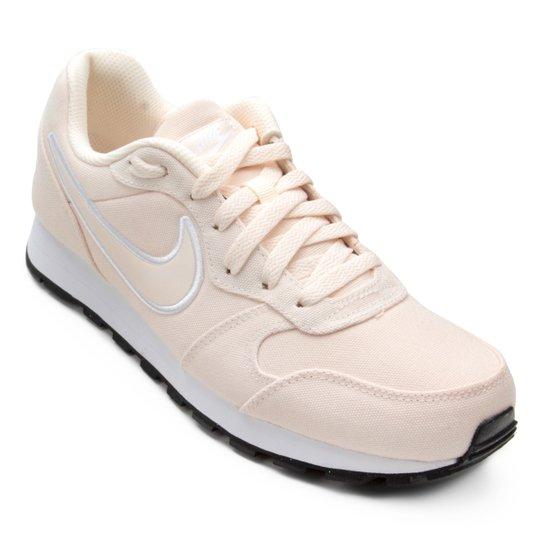 07304c1cc48b1 Tênis Nike Md Runner 2 SE Feminino - Nude - Compre Agora