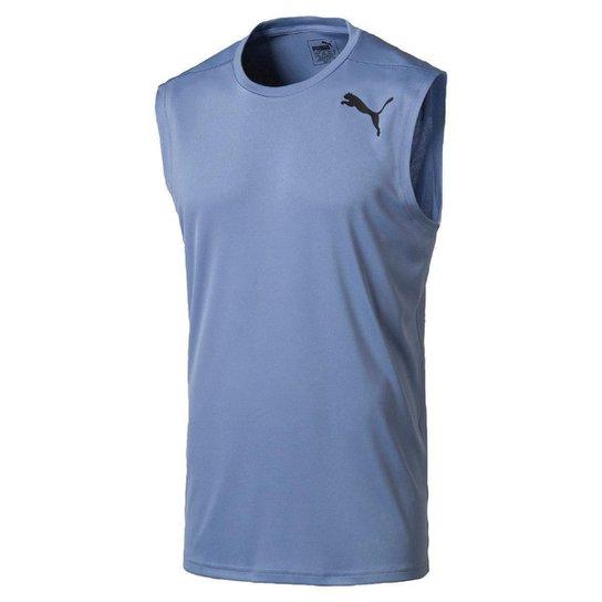 4c662dfd6894b Camiseta Regata Puma Essential - Lilás - Compre Agora