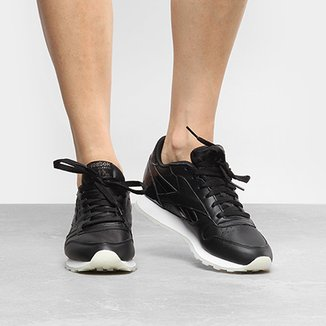 Tênis Reebok Cl Leather L Feminino ad7b8a155d057