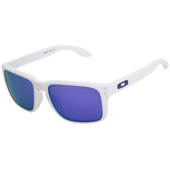 Óculos Oakley Holbrook Matte White  Lente Violet - Compre Agora ... bcec5e9d91