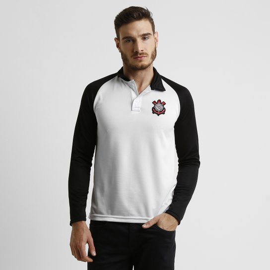 Camisa Polo Corinthians M L Raglan - Compre Agora  62dad1ff9f3fc
