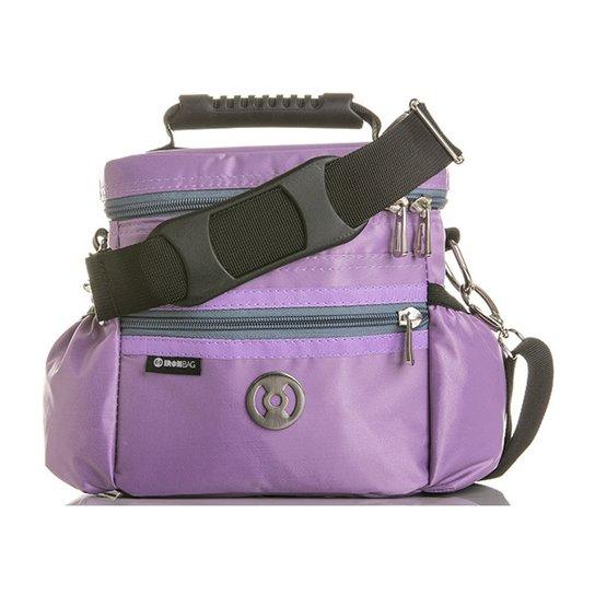 16fb75ee9 Bolsa Térmica Iron Bag Mini Pop Tamanho P + Combo de acessórios - Lilás