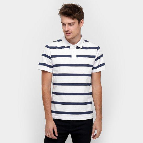 Camisa Polo Colombo Listrada Fio Tinto - Compre Agora  4dbbe135631c1