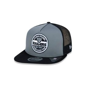 8857cef5a8 Boné 950 Original Fit Oakland Raiders NFL Aba Reta Snapback New Era