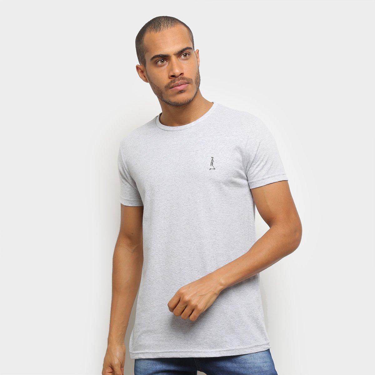 Camiseta Derek Ho Básica Mini Caveira Masculina
