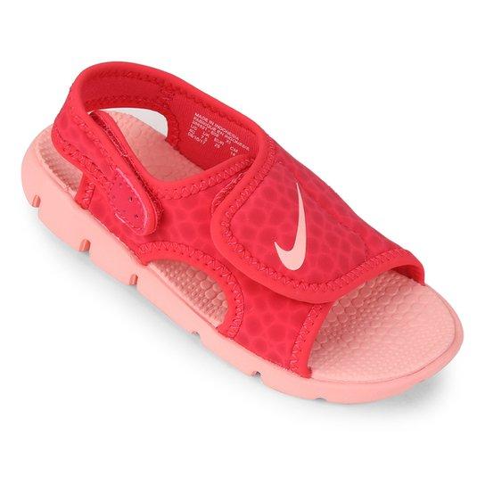 3d9e06c09 Sandália Nike Sunray Adjust 4 Infantil - Coral | Netshoes