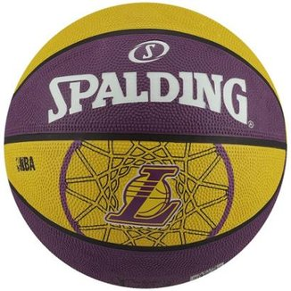 Bola Basquete Spalding Los Angeles Lakers 7477664457e09
