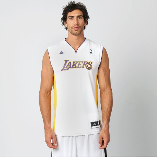 Camiseta Regata NBA Adidas Los Angeles Lakers Alt - Compre Agora ... ffddf479cdb