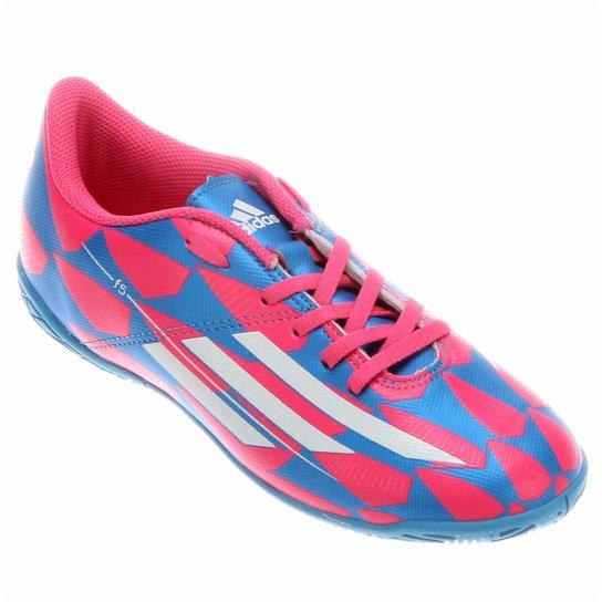 Chuteira Adidas F5 IN Juvenil - Compre Agora  b0b3208610e