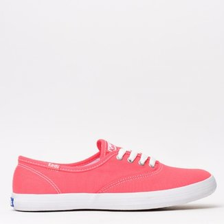 Tênis Keds Champion Woman Canvas Seacoral KD10010 314ae21dd01