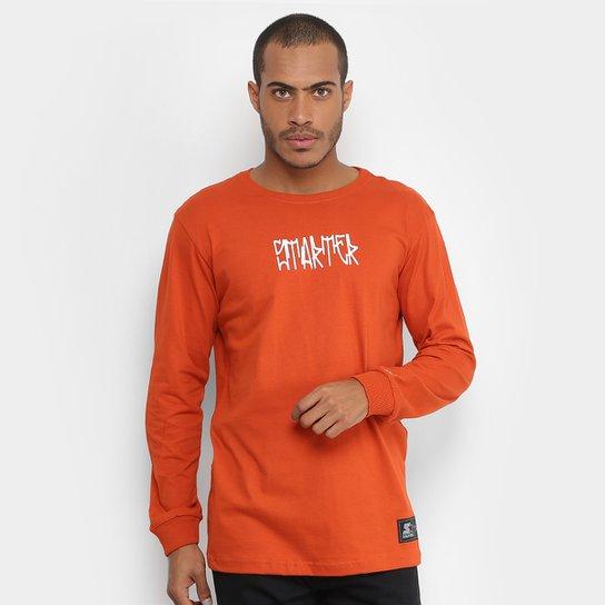 Camiseta Starter Manga Longa Pixo Color Masculina - Compre Agora ... ca478c0f1bf