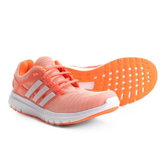 4f6a209f9b Tênis Adidas Energy Cloud V Feminino - Coral - Compre Agora
