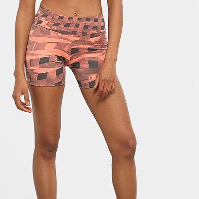 Bermuda Adidas Estampada TechFit Feminina