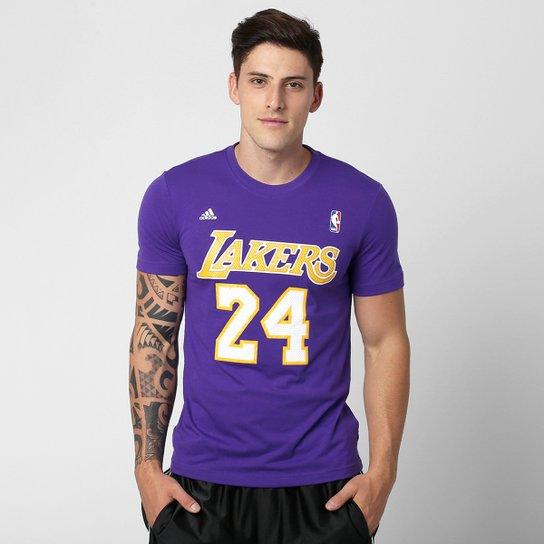5b9006e5e Camiseta Adidas Gametime NBA Los Angeles Lakers - Compre Agora ...