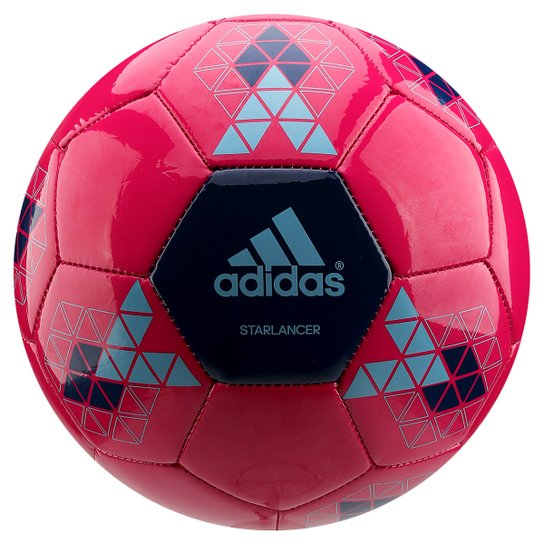 ... to buy 86fc5 b00be Bola Futebol Campo Adidas Starlancer 5 -  Pink+Marinho  shop ... b7395c2d95f0f