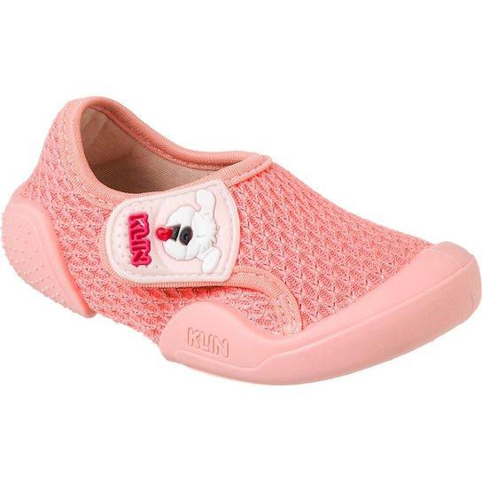 c6a37865f85 Tênis Bebê Klin New Comfort Feminino - Coral - Compre Agora