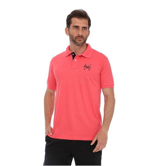 9908c6284f Camisa Polo England Polo Club Casual Taco - Coral - Compre Agora ...