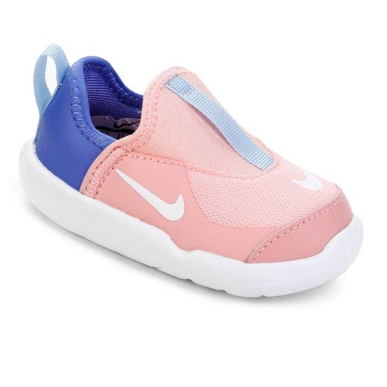 ae5b7074d128a Tênis Infantil Nike Lil Swoosh Feminino - Coral | Netshoes