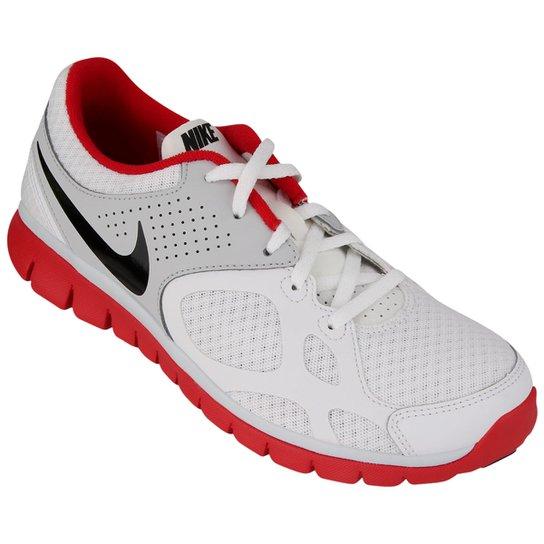d93ddca25 Tênis Nike Flex 2012 RN - Branco+Vermelho ...