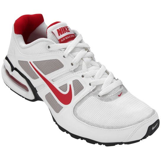 388bc44a1ed Tênis Nike Air Max LTE 2 - Branco+Vermelho