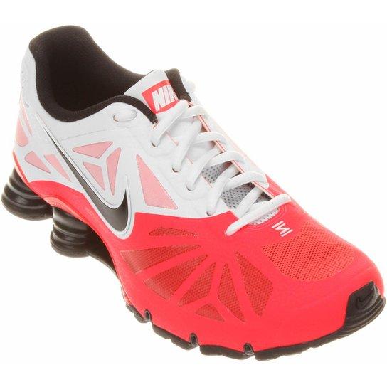 d11235cb294 Tênis Nike Shox Turbo 14 - Laranja Escuro+Branco