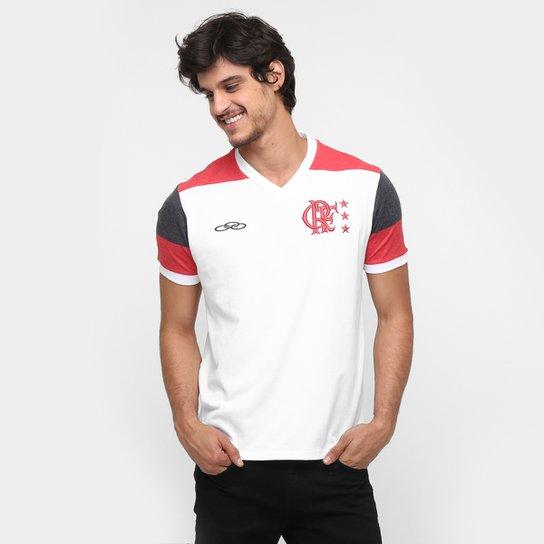 Camiseta Olympikus Flamengo Mundial 81 - Branco+Vermelho aa54f8a8e7af9