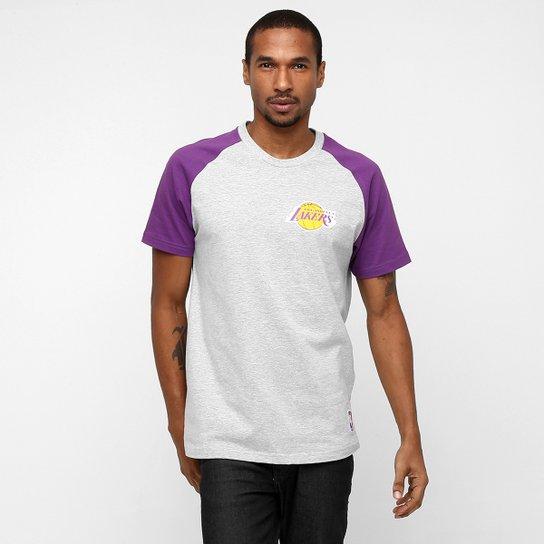 3350fb467 Camiseta NBA Raglan Los Angeles Lakers - Compre Agora