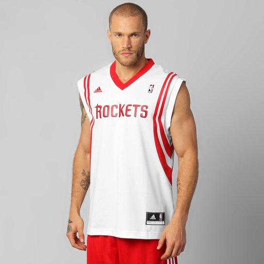 275a637f6 Camiseta Regata Adidas NBA Houston Rockets Home - Compre Agora ...
