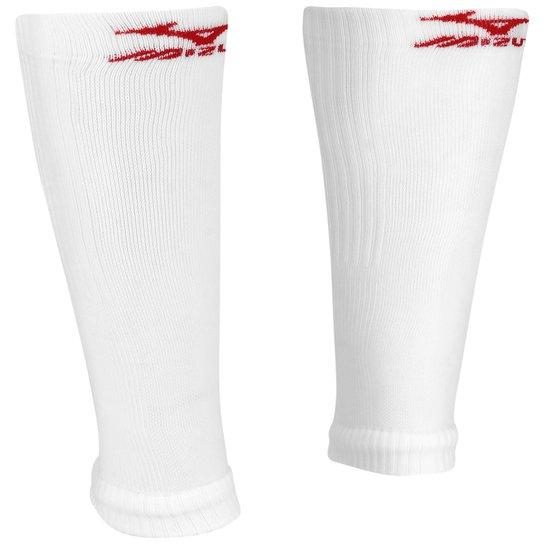 Polaina de Compressão Mizuno Running - Branco+Vermelho 551a18265a829