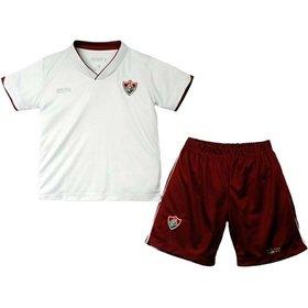 Malha Dry Uniforme Campo Menino Fluminense Reve Dor - 4 Anos 7b1ba0e19ec05